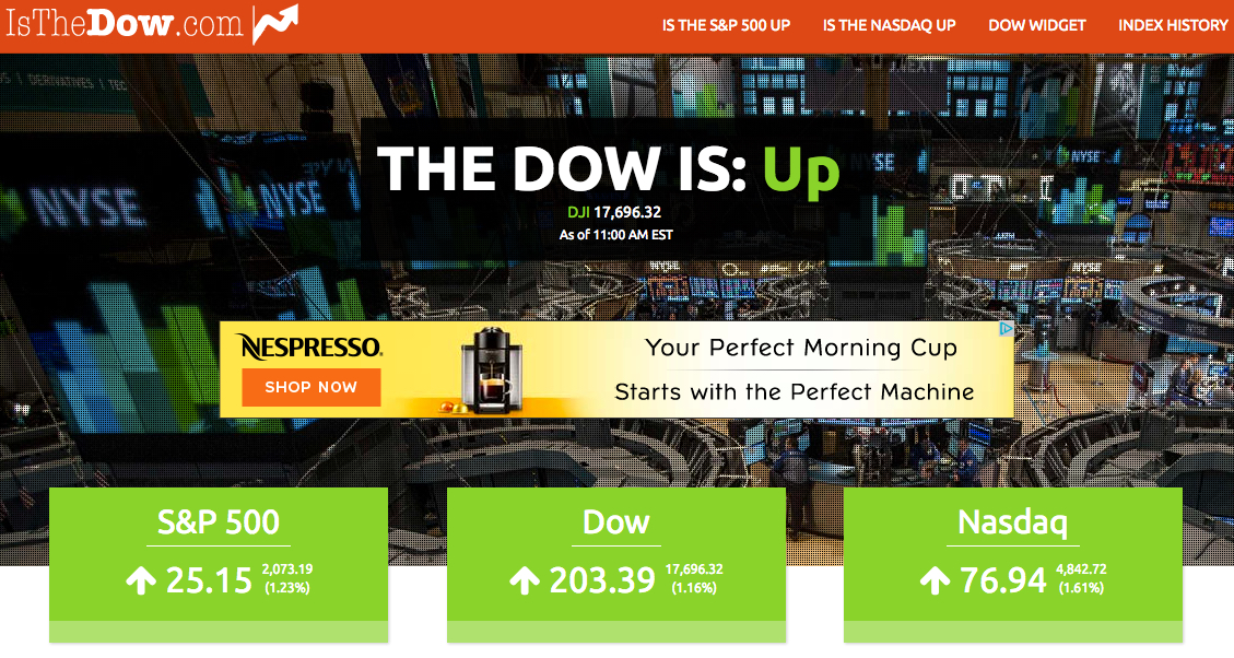 dow up