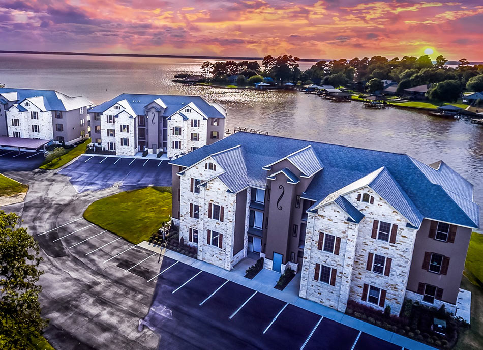 real estate drone shots
